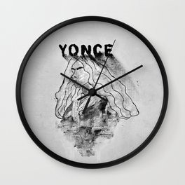 Formation II (Noir) Wall Clock