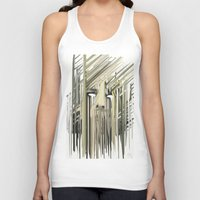 kurt rahn Tank Tops featuring Kurt Melting by eyesdrippingink