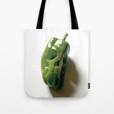 87. Bell Pepper Skull Tote Bag