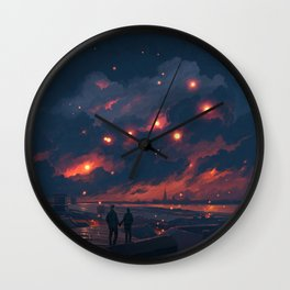 Magic Night Wall Clock