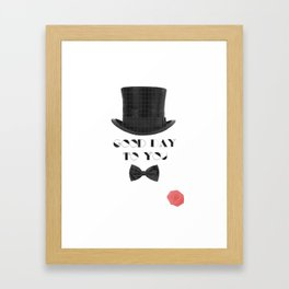 Gentleman Framed Art Print