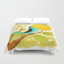Early To Rise Duvet Cover