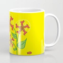 Doxie Flower Coffee Mug