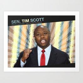 Tim Scott Art Print