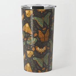 Autumn Moths Travel Mug