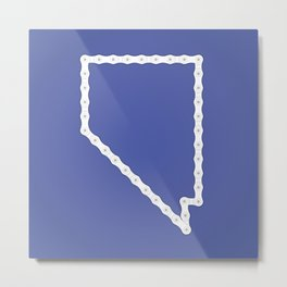 Nevada: United Chains of America Metal Print