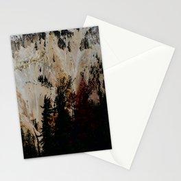 Yellowstone National Park Mountain Range Stationery Cards