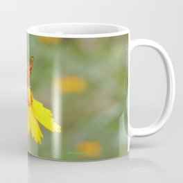 Ms. Indian Fritillary at West Lake Coffee Mug