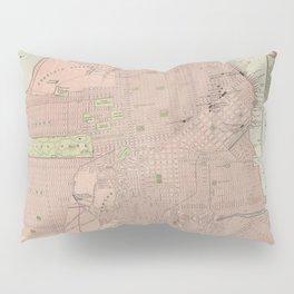 Vintage Map of San Francisco CA (1906) Pillow Sham