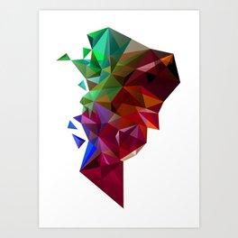 Autumn Equinox 2010 (Inversed) Art Print