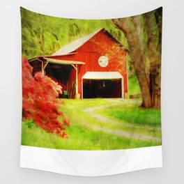 Country Charm Wall Tapestry