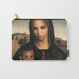 Bey and Blue  Carry-All Pouch
