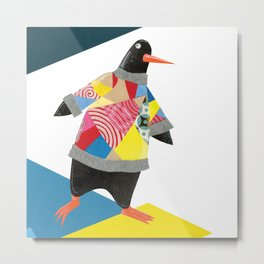 Penguinno II: International Penguin of Mystery Metal Print