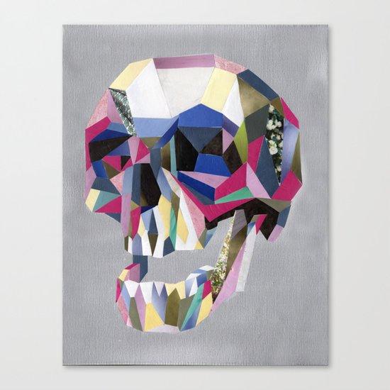 Skully skull Canvas Print