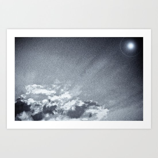 polar sky Art Print