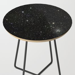 Space - Stars - Starry Night - Black - Universe - Deep Space Side Table