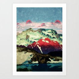 Winter in Keiisino Art Print