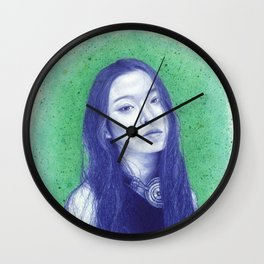 At the moss garden Wall Clock