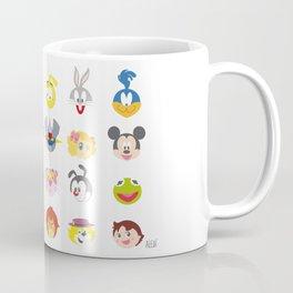 80's Cartoons Coffee Mug