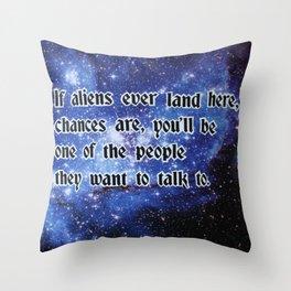 ALIENZ Throw Pillow