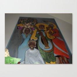 African Rythm Canvas Print