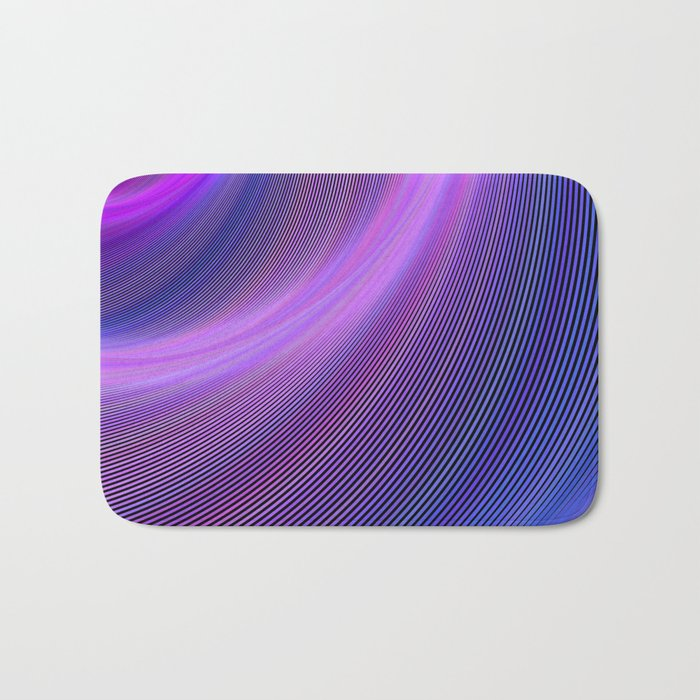 Purple storm Bath Mat