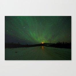 The Aurora is ahead Canvas Print