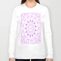 lavender Long Sleeve T-shirts featuring lavender by SimplyChic