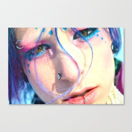 Galactic Angst  Canvas Print