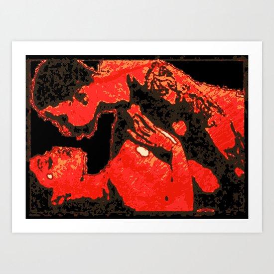 EROS BY Cd KIRVEN Art Print