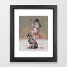 Coal Miner's Daughter. Framed Art Print