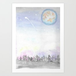 Colors of the Sky Art Print