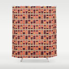 Spirited Away Inspired Bath Token Pattern Shower Curtain