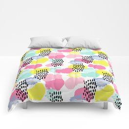 Bright happy painted pattern n...