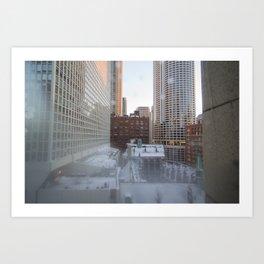 Chicago Morning Art Print