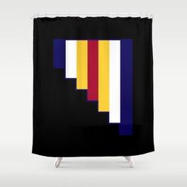 Agenderfluid Shower Curtain