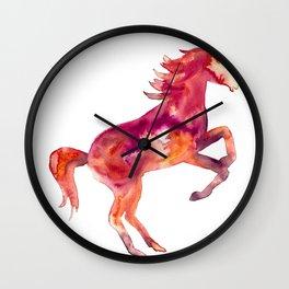 Fiery Unicorn Wall Clock