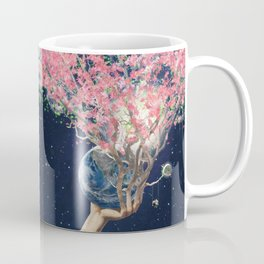 Love Makes The Earth Bloom Coffee Mug