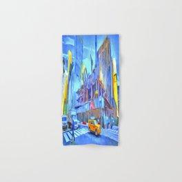 Construction New York Pop Art Hand & Bath Towel