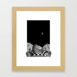 Quinten and the Graveyard Framed Art Print