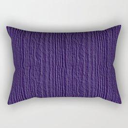 Gentian Violet Wood Grain Color Accent Rectangular Pillow