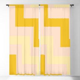 Chevron diagonal 90s Blackout Curtain
