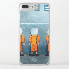 Incarceration Station Clear iPhone Case