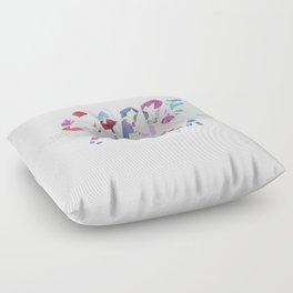 Carpe Diem Color Ink Floor Pillow
