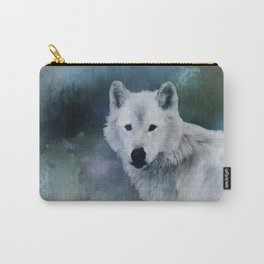 Spirit of White Wolf Carry-All Pouch