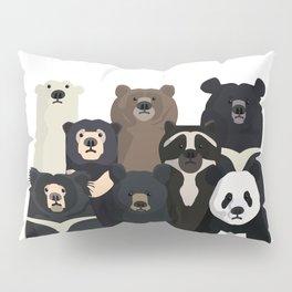 Bear family portrait Pillow Sham