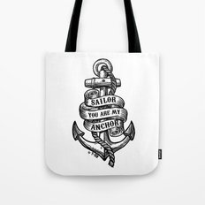 You Are My Anchor Tote Bag