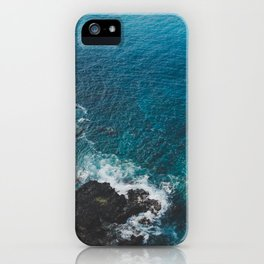 Blue Gem of Hawaii iPhone Case