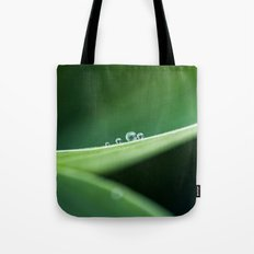 drops in a row Tote Bag