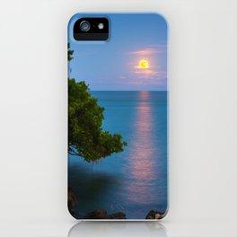 Harvest Moon - The Florida Keys iPhone Case